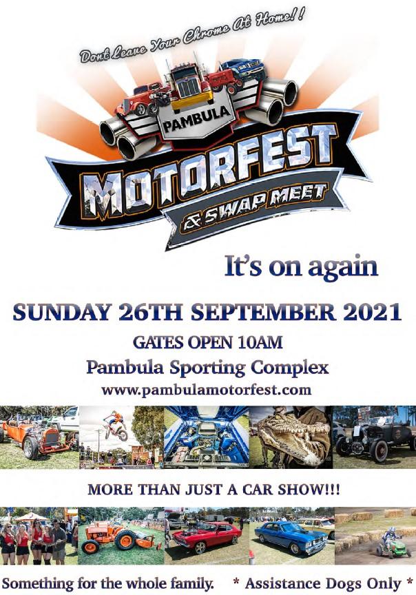 pambula motorfest