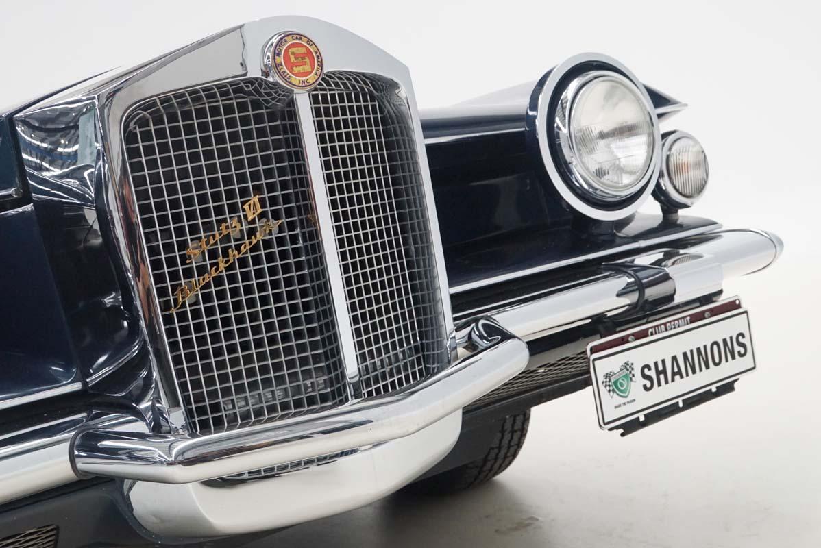 Stutz Blackhawk features at Shannons auction
