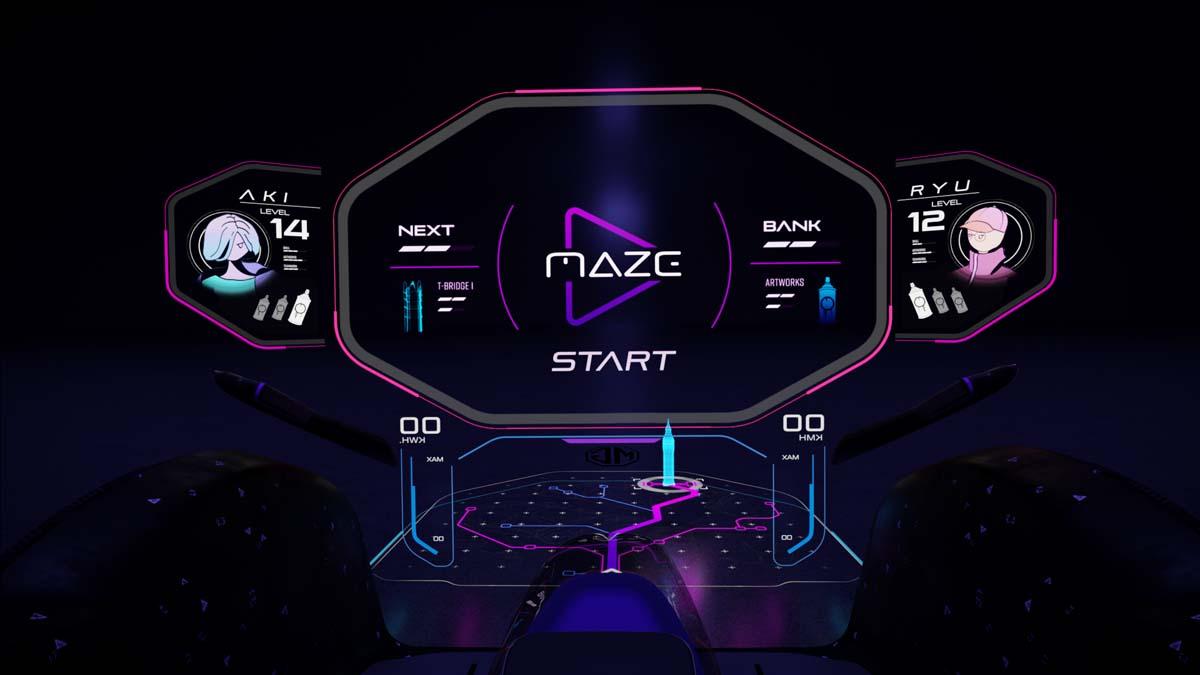 TECH - MG Maze concept