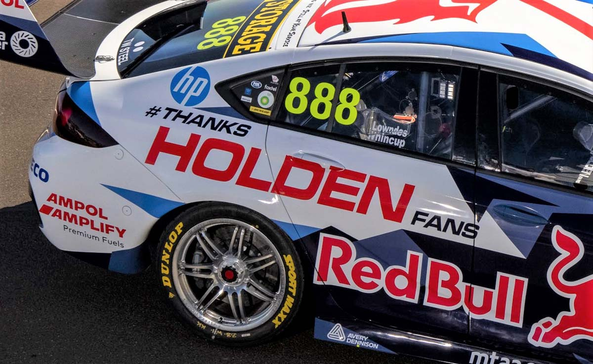 Holden unveil livery for final Bathurst factory entry