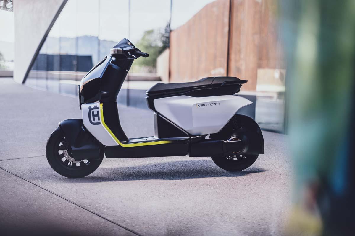 Husqvarna presents 'Vektorr' electric scooter concept