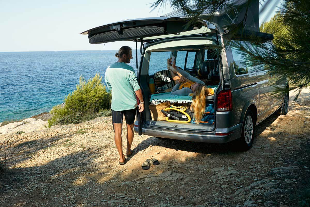 VW California Beach camper here.
