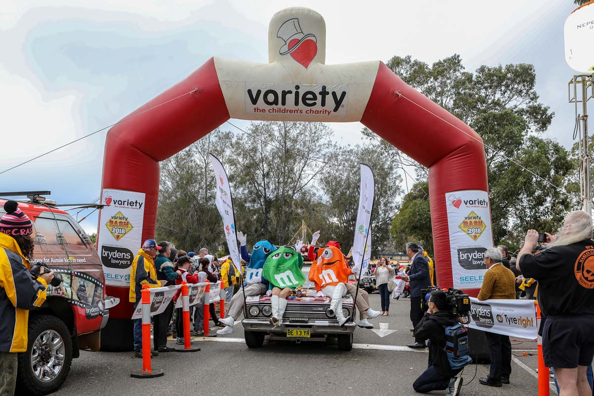 Variety outline national motoring events'