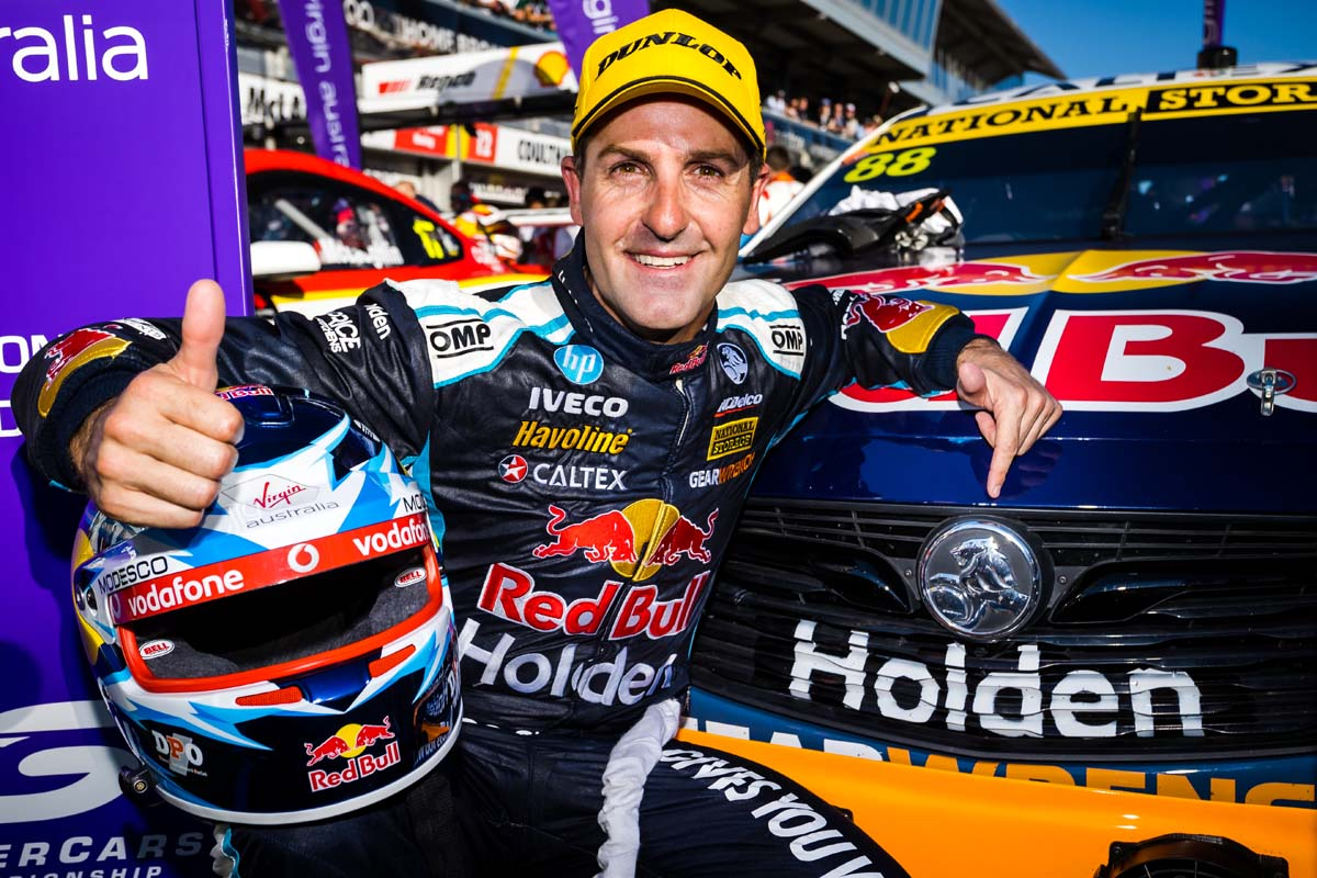 Whincup announces driving retirement