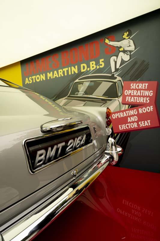 Aston Martin celebrates return of 007
