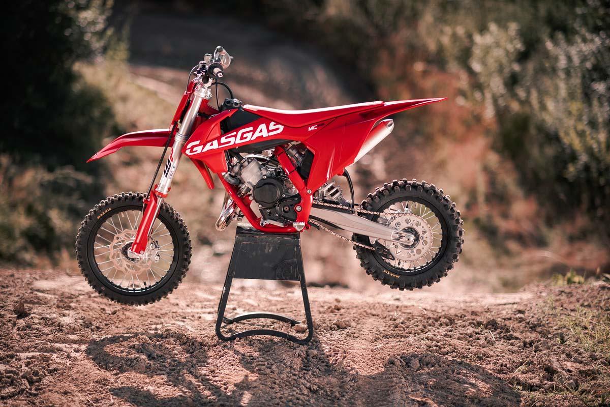 2021 GAS GAS mini bike range – MC 65
