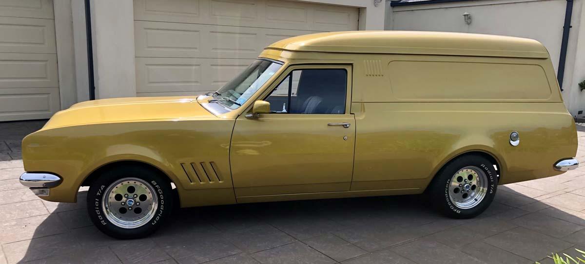 FEATURE – 1971 Holden HG Belmont panel van