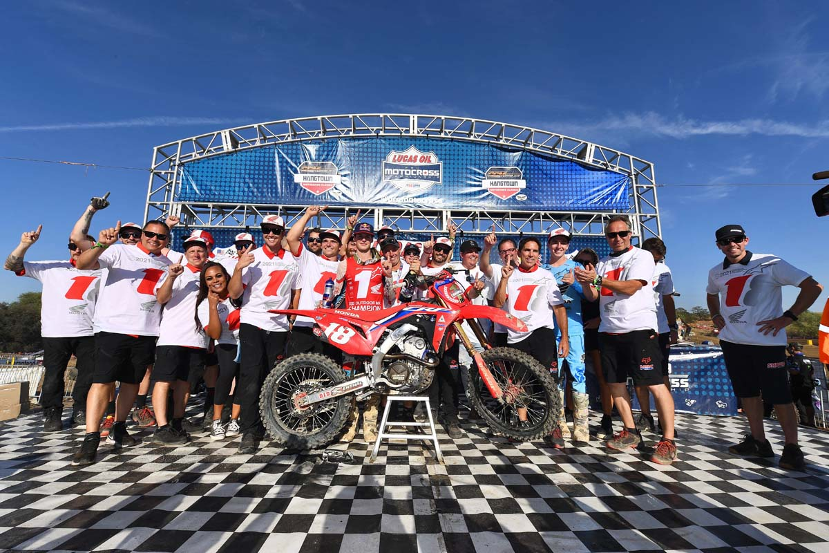ett Lawrence wins AMA 250MX Championship
