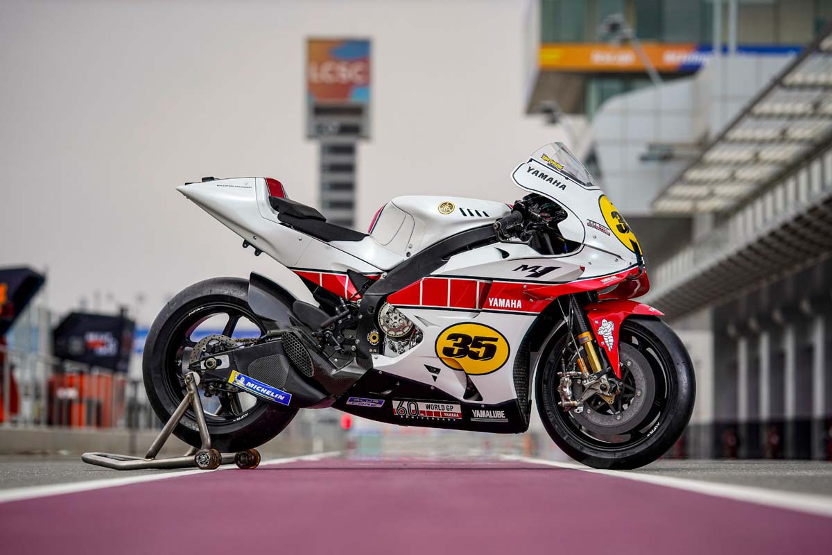 Yamaha celebrate 60 years in GP racing