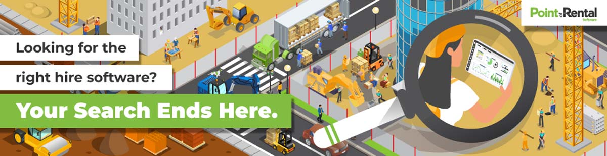 In the equipment rental business? You need Point of Rental!