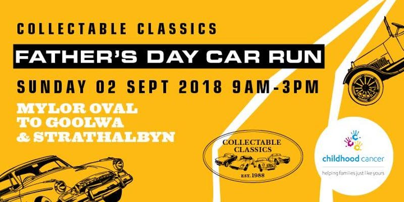 Collectable Classics Father's Day Run Flyer