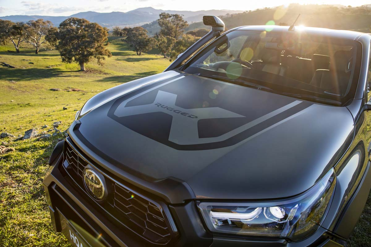 Toyota presents new HiLux Rogue and Rugged X