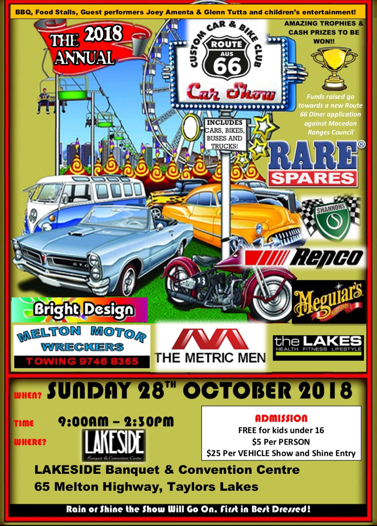 The 2018 Annual Route 66 Car Show