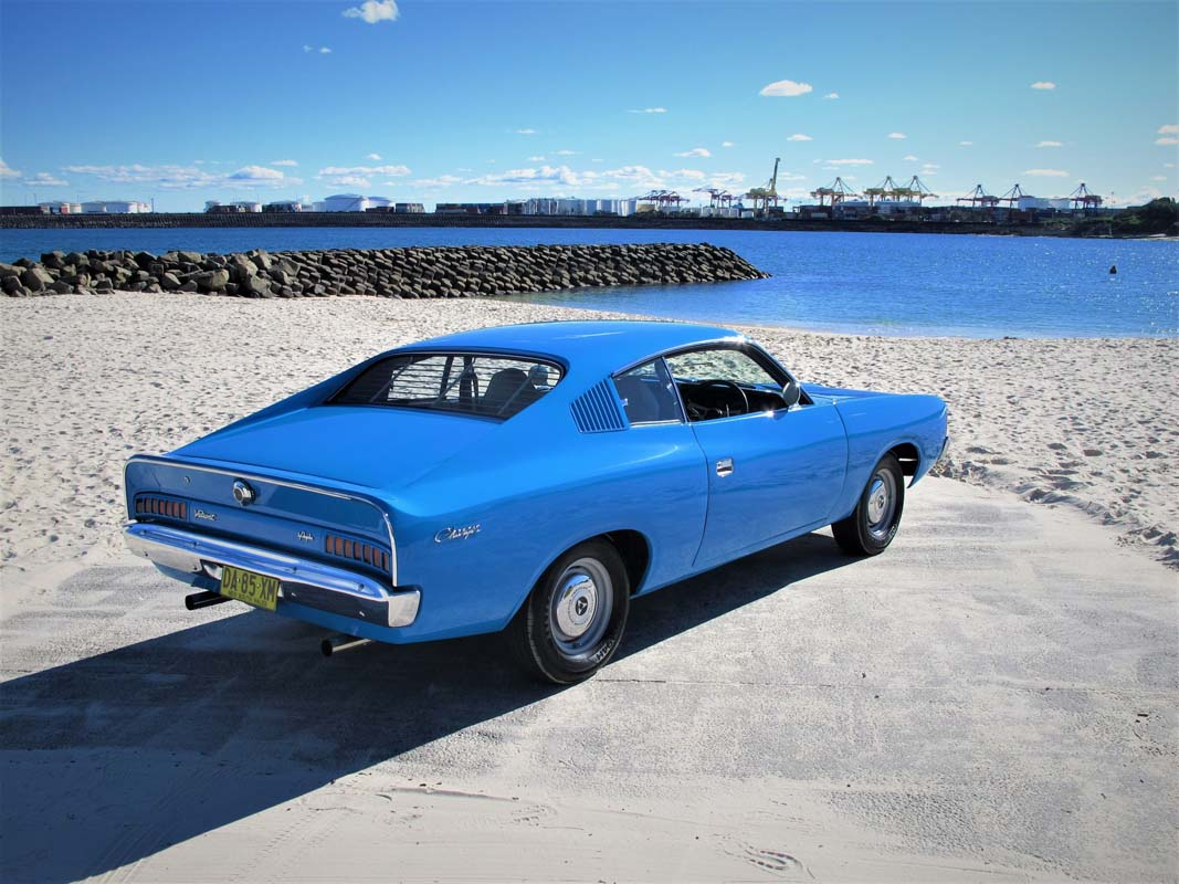 Carlo Hallacq redefines the Charger