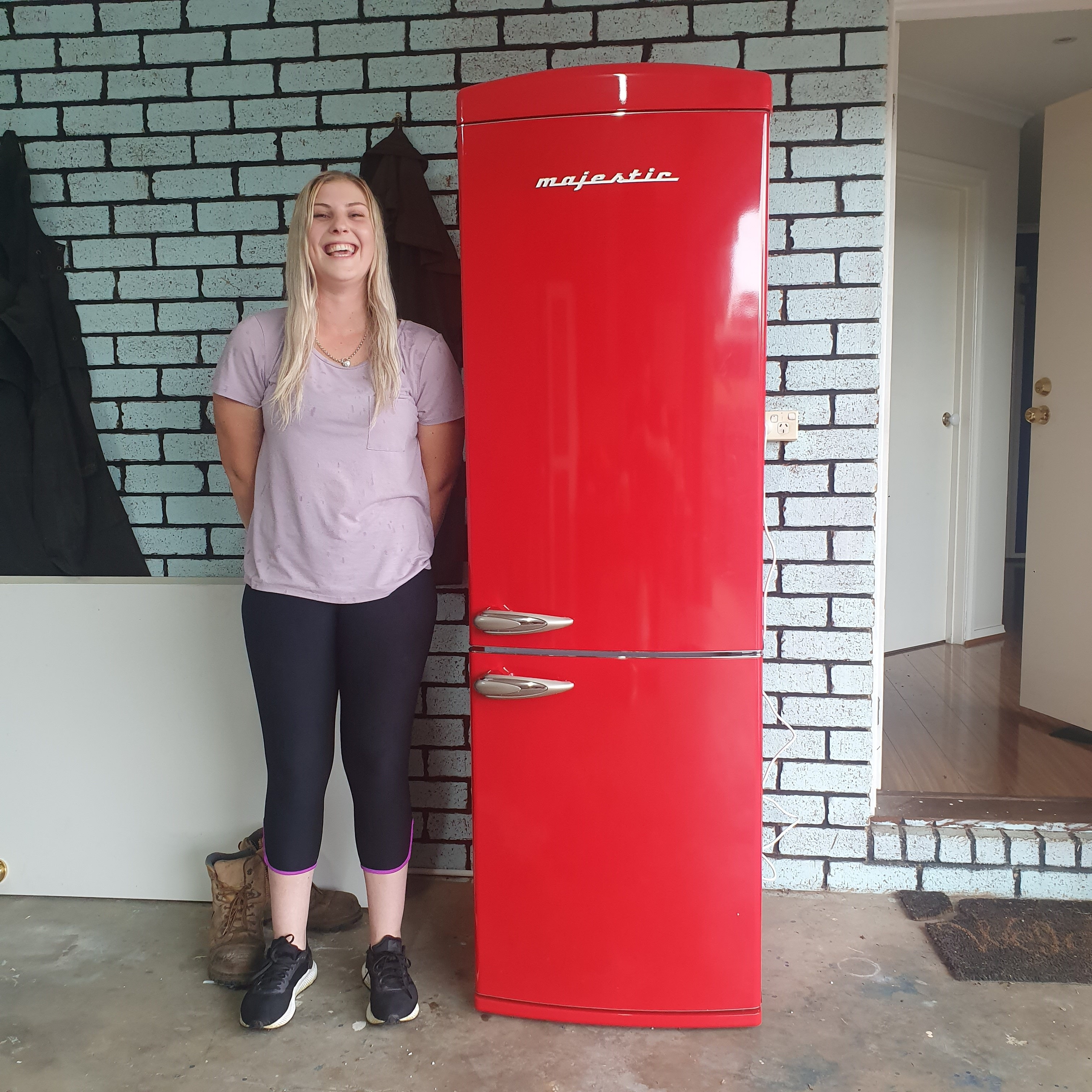 Courtney S, Majestic Fridge Winner