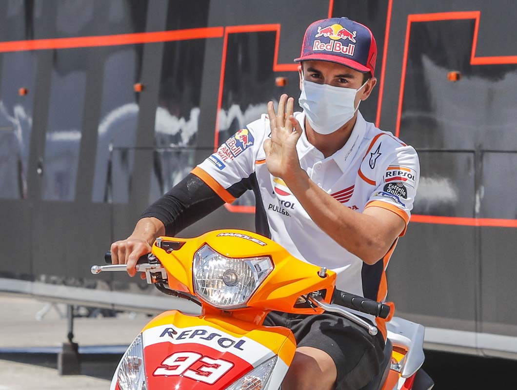 Marquez out of MotoGP 'for months'