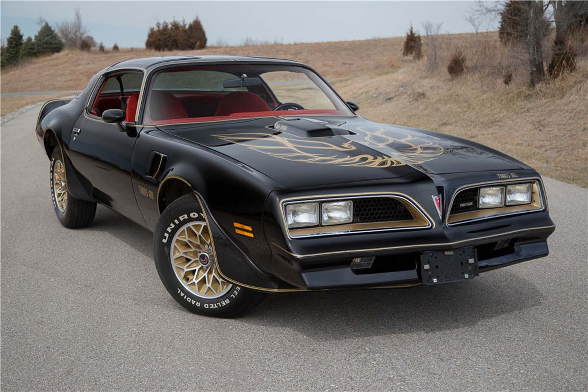 Win a Firebird Trans Am with Shannons