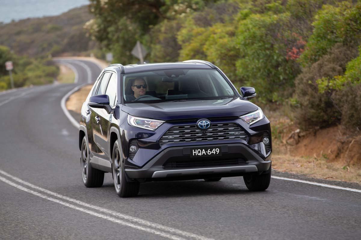 RAV4 Hybrid achieves sales milestone