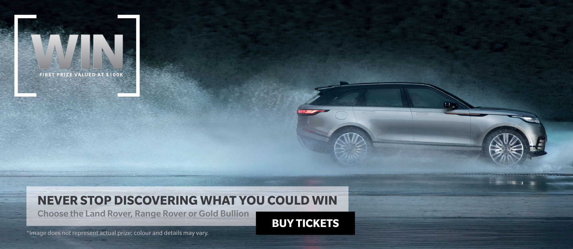 Win a Range Rover Velar or Land Rover Discovery