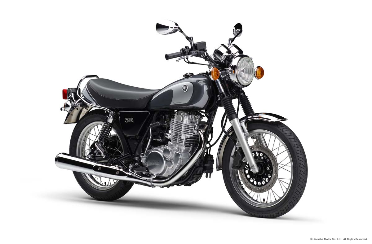 Yamaha ends production of SR400