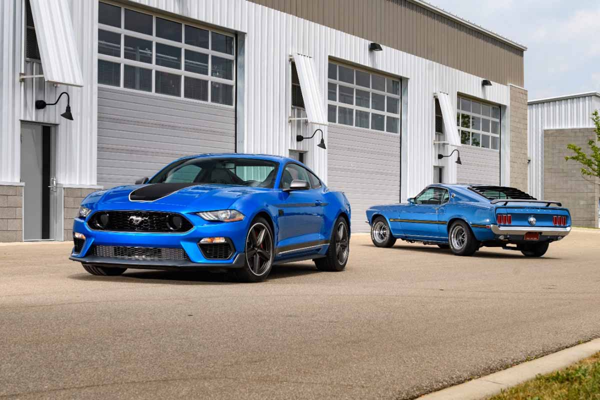 Ford reveals new Mustang Mach 1