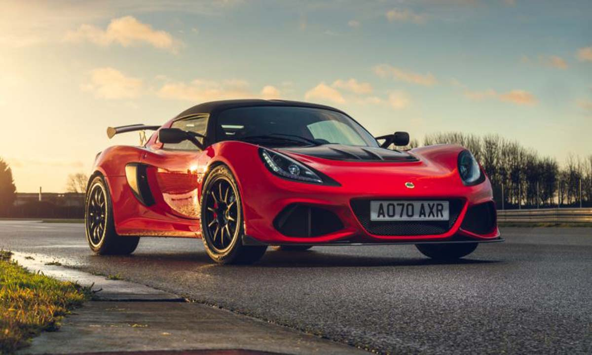 Lotus Exige Final Editions in detail