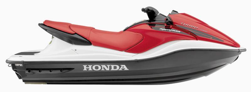 Side view of the Honda AquaTrax