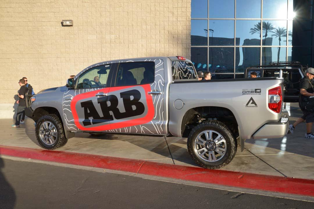 ARB was one of a handful of Aussie companies exhibiting at the event.